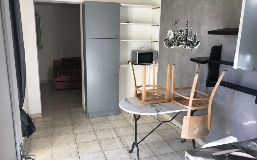 STUDIO MEUBLE 18 M² AVEC JARDINET – ROCHASSON