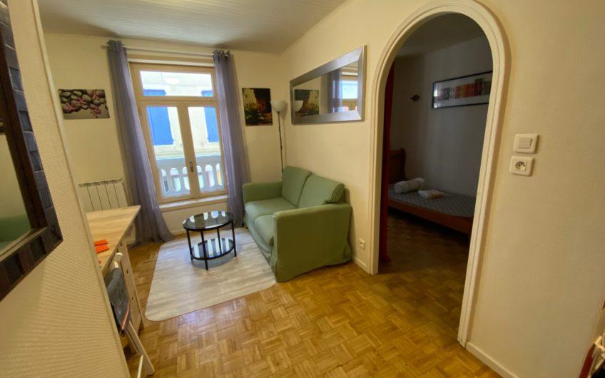 Coquet T1 meublé de 24 m² en centre-ville de Gap