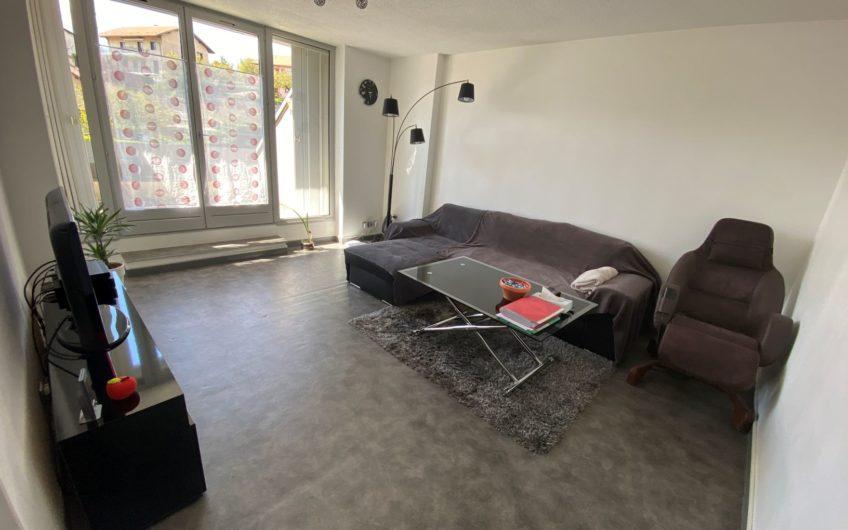 Appartement T2 de 53,66 m² avec terrasses, cave et parking